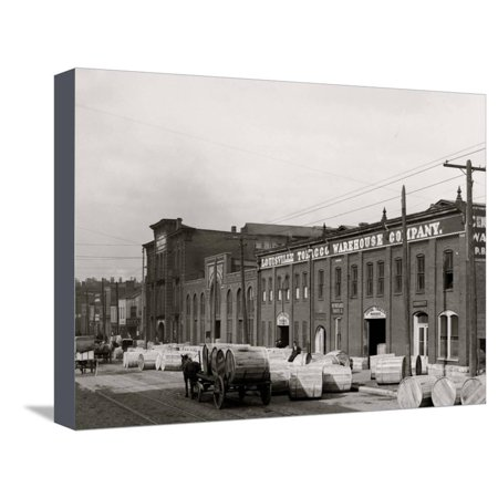 A Tobacco Warehouse, Louisville, Ky. Stretched Canvas Print Wall