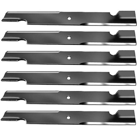 6) Toro Zero Turn Mower High Lift Blades fits 60