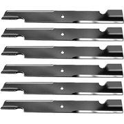 """Replacement BadBoy 60"""" Mower Blades 2 Sets 6 Blades 038-6060"""