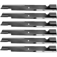 "Replacement BadBoy 60"" Mower Blades 2 Sets 6 Blades 038-6060"