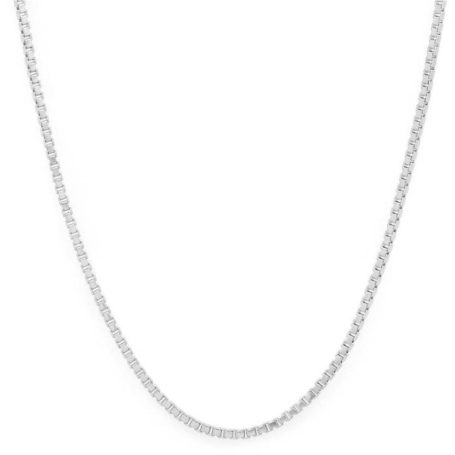 Image of A .925 Sterling Silver 2mm Box Chain, 24""