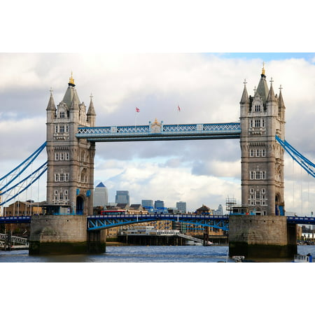 Laminated Poster England London Tower Bridge The Thames Bro Poster Print 11 x 17 - Thames Valley Police Halloween Poster