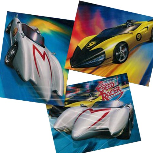 Speed Racer Wall Decorations (3ct)