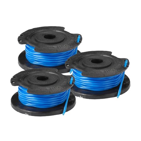Ryobi P2000 & P2002 18V String Trimmer (3 Pack) Spool w/Line # 3110382AG-3PK ()