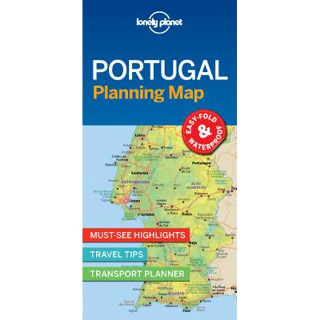 Travel guide: lonely planet portugal planning map - folded map: - Portugal Digital Map