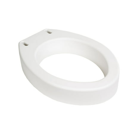 Elevated Toilet Seat Riser (Essential Medical Supply Toilet Seat Riser, Standard )