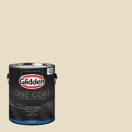 Glidden One Coat, Interior Paint + Primer, Heavy Cream