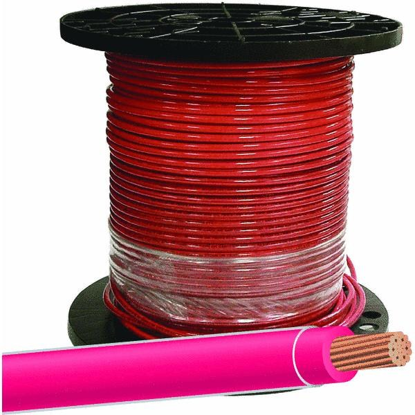 Southwire/Coleman Cable 112-4003J 500-Ft. Red 8 Stranded ...