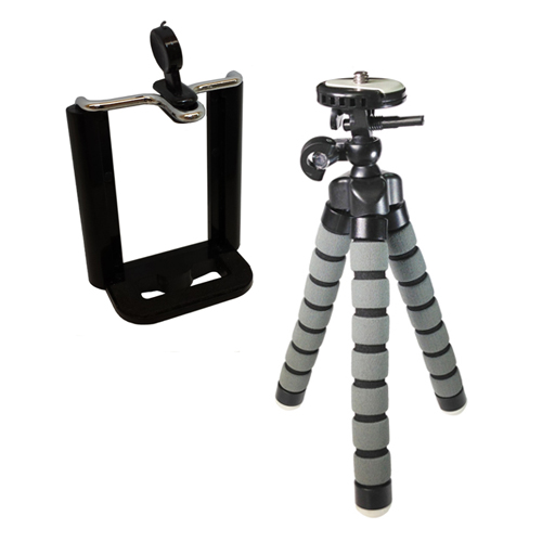 "Samsung Galaxy Note 4 Cell Phone Tripod Small Flexible Gripster Tripod For Smartphones - Approx 9"" H"