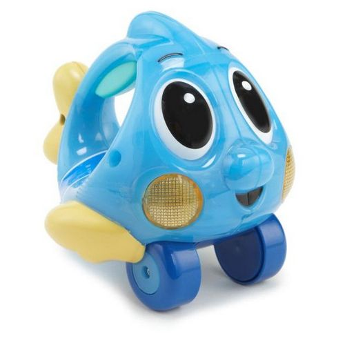 Push 'n Glow Fish - Blue