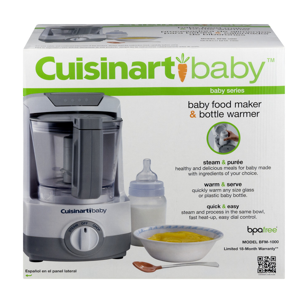 Cuisinart  In  Baby Food Maker Bottle Warmer