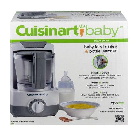 Cuisnart Baby Food Maker Amp Bottle Warmer 1 0 Ct Walmart Com