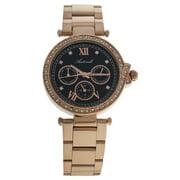 AL0519-15 Rose Gold Stainless Steel Bracelet Watch by Antoneli for Women - 1 Pc Watch