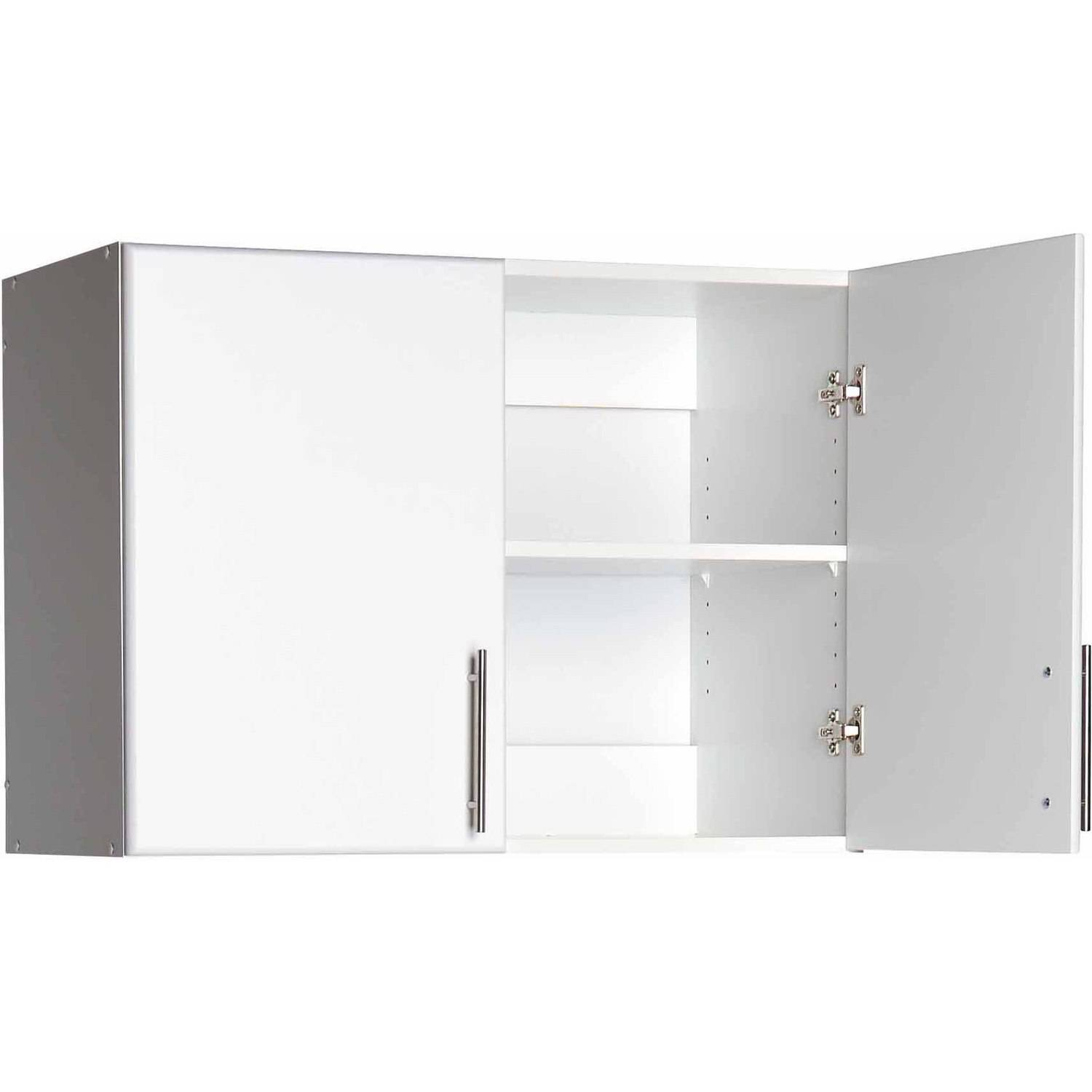 """Prepac 32"""" Topper and Wall Cabinet, 2-Door"""