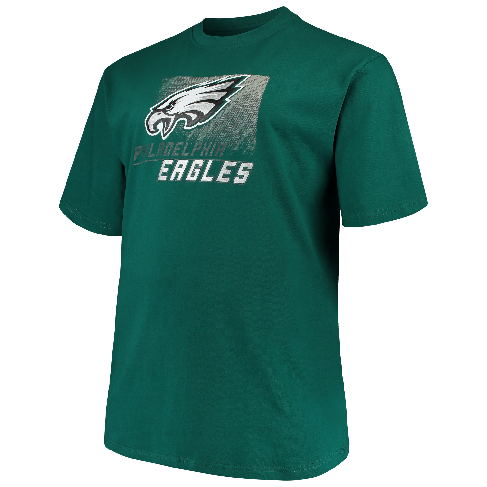 Men's Majestic Midnight Green Philadelphia Eagles Big & Tall Reflective T-Shirt