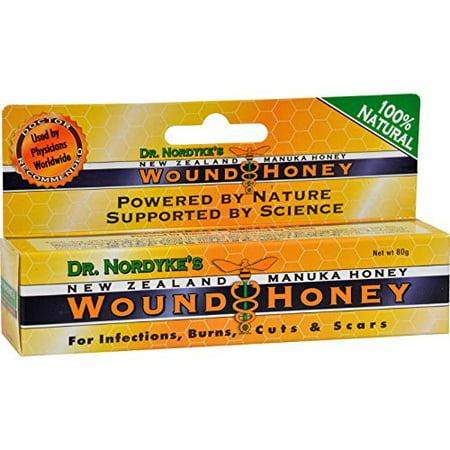 Wound Honey, Manuka Honey Wound Cream with Active Manuka Honey