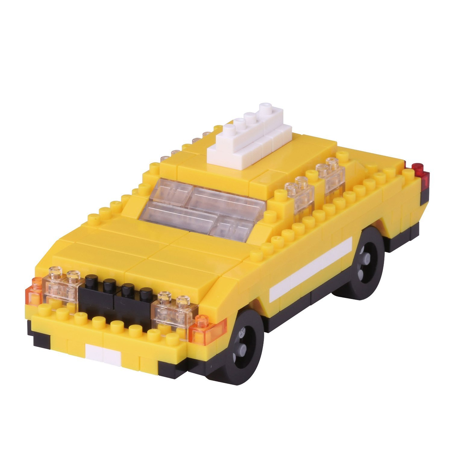 New York Taxi Building Kit, The only way to get around the big city, the classic yellow... by