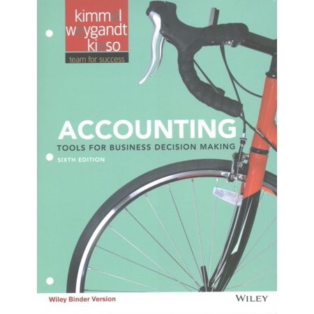 Accounting: Tools for Business Decision Makers W/Wiley Plus (Decision Maker Paperweight)