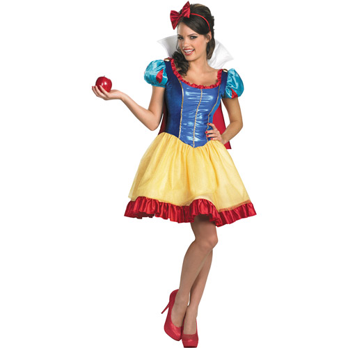 Snow White Sassy Deluxe Adult Halloween Costume