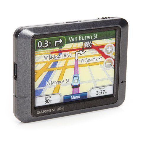 "Garmin nuvi 255 Portable GPS w/ 3.5"" Screen & Spoken Street Names"