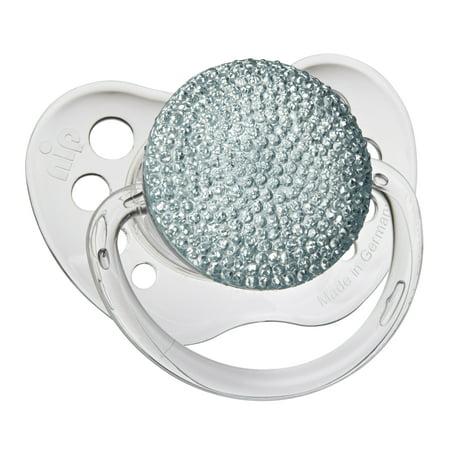 Glitter Pacifier Crystal Blue Pacifier