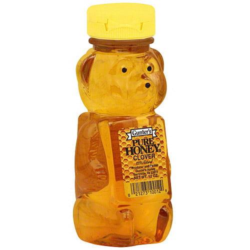 Gunter's Clover Honey Bear, 12 oz. (Pack of 12)