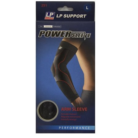 LP Support Power Sleeve 251 Arm Compression Sleeve Black,