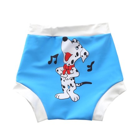 Baby & Toddler Swim Diapers Waterproof Leakage-proof Reusable Swimming Nappy Pants Swimwear XL