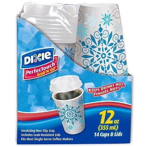 Dixie 12 oz Grab N Go Coffee Cups, 14ct