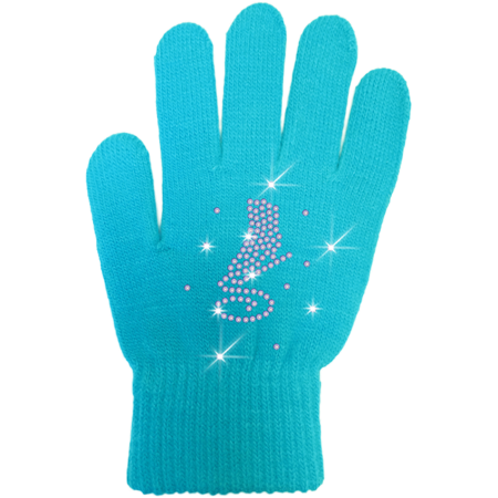 ChloeNoel Ice Skating Gloves - GV22-TQ/Skate