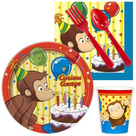 Curious George Snack Pack for 16 - Curious George Party Stuff