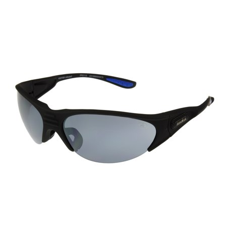 IRONMAN Men's Black Wrap Sunglasses