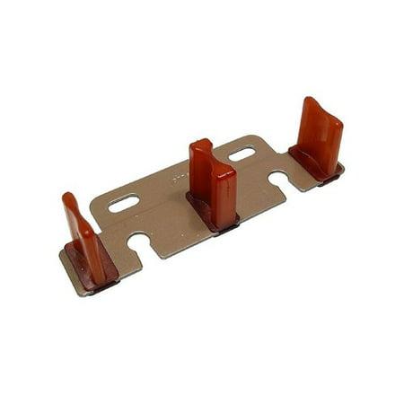 Johnson Hardware Floor Guide for 1-1/8 inch - 1-3/4 inch Door 2134
