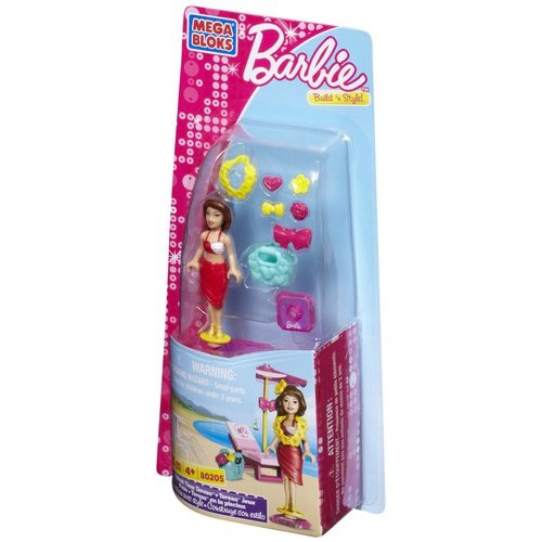 Barbie Build 'n Style Splash Time Teresa Set Mega Bloks 80205
