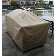 """Formosa Covers BBQ Island Grill Covers up to 124"""""""