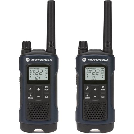 Motorola Talkabout T460 Rechargeable Two-Way Radio Pair - Dark Blue