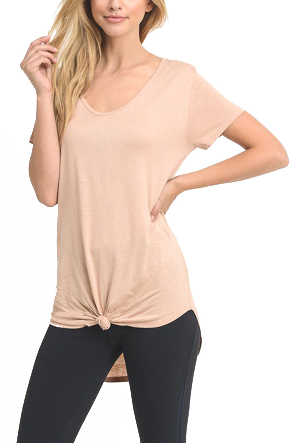 how to get the home button on iphone womens active casual solid front tie knot basic top 20893