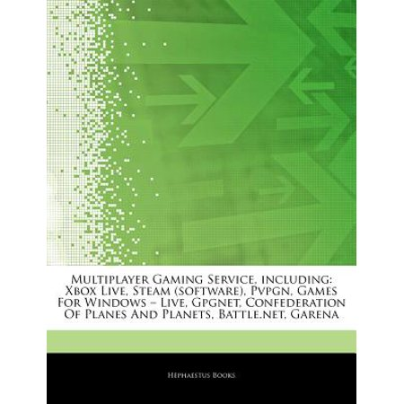 Articles on Multiplayer Gaming Service, Including: Xbox Live, Steam (Software), Pvpgn, Games for Windows