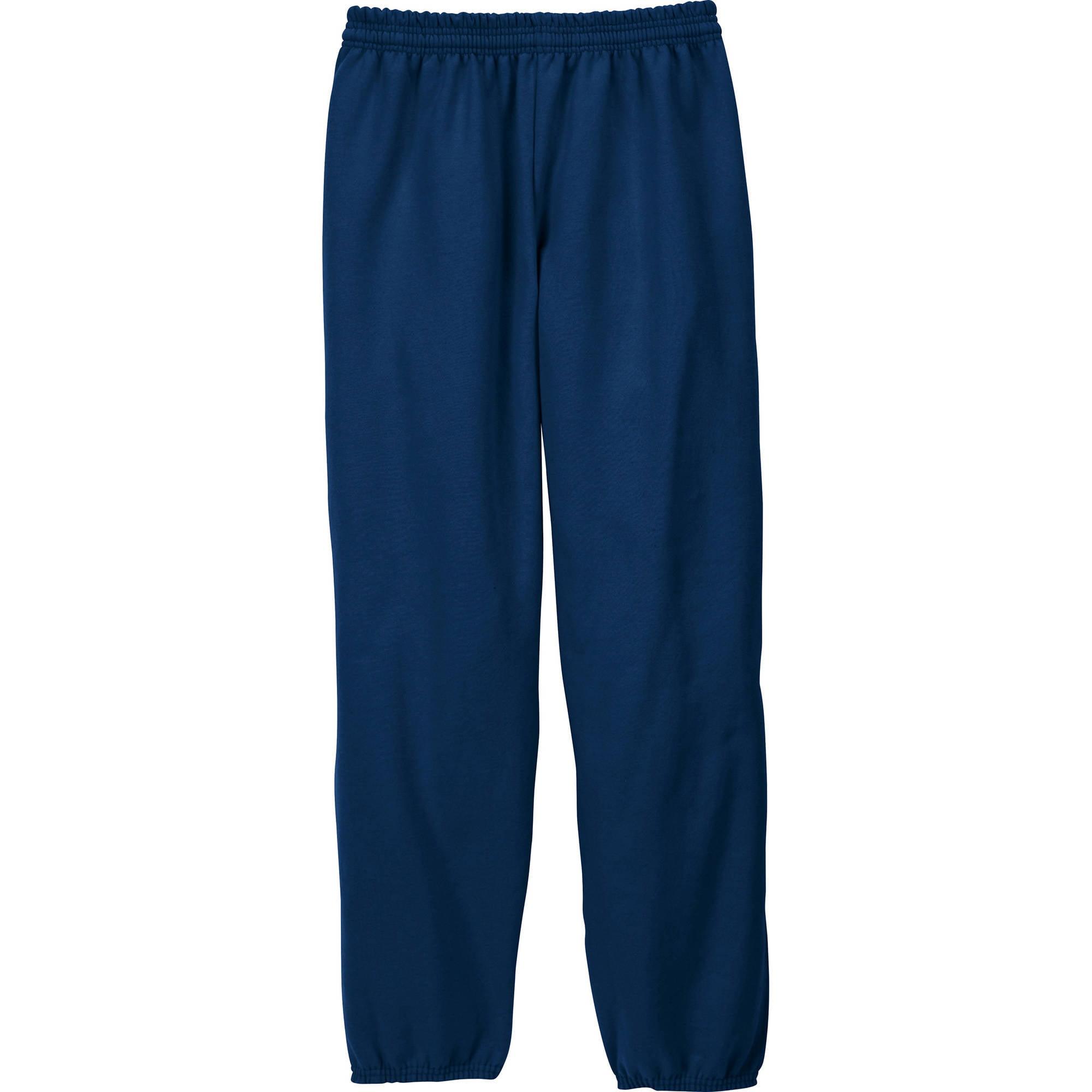 Hanes Men's EcoSmart Fleece Sweatpant - Walmart.com
