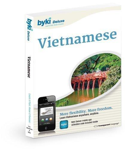 Byki Vietnamese Language Tutor Software & Audio Learning CD-ROM for Windows & Mac by Byki