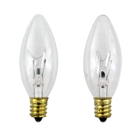 Philips 40 Watt Clear Ceiling Fan Light Bulbs Candelabra