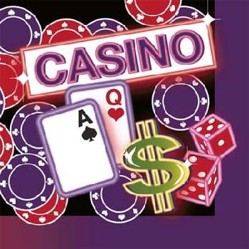 Casino Night Lunch Napkins (16ct)