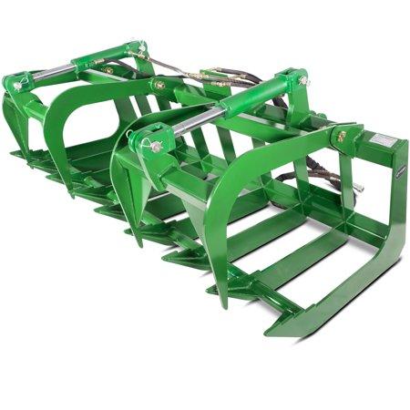 Titan Attachments 72  Root Grapple Bucket Fits John Deere Tractor Loader