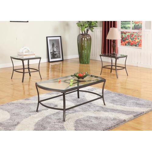 Inroom Designs Coffee Table Set Walmartcom