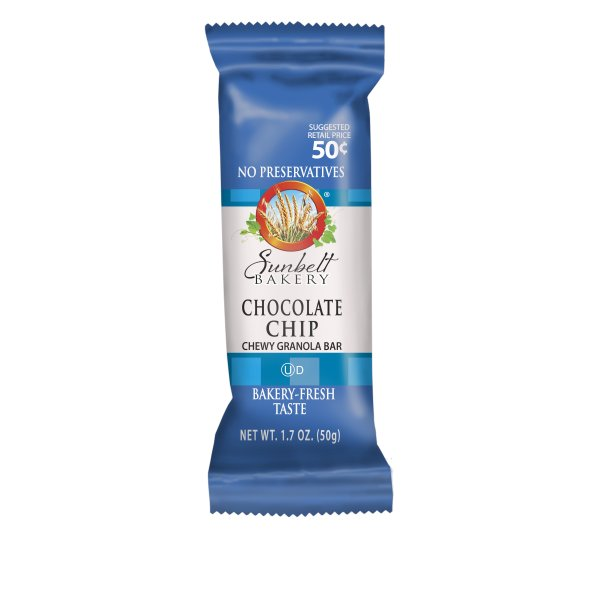 Sunbelt Bakery Snack Chocolate Chip Chewy Granola Bars, 1.7 oz