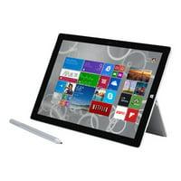 "Microsoft Surface Pro 3 - Tablet - Core i5 4300U / 1.9 GHz - Win 8.1 Pro 64-bit - 4 GB RAM - 128 GB SSD - 12"" touchscreen 2160 x 1440 (Full HD Plus) - HD Graphics 4400 - Wi-Fi - silver - refurbished"