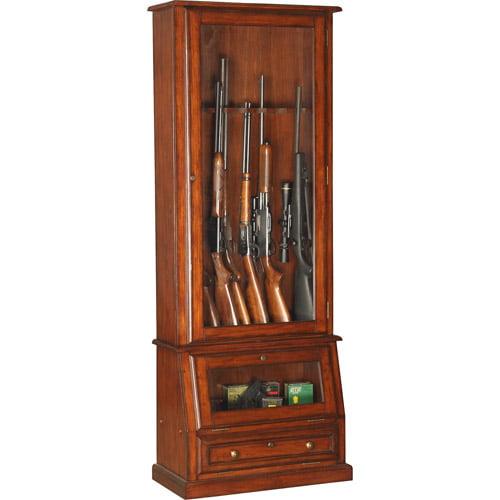 American Furniture Classics Rifle, Shotgun and Pistol Cabinet
