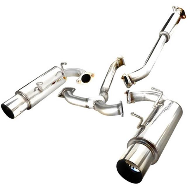 Spec-D Tuning MFCAT2-FRS12 Catback Exhaust System Dual Ti...