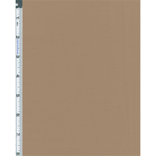 Warm Beige Low-stretch Cotton Warner Suiting, Fabric By the Yard