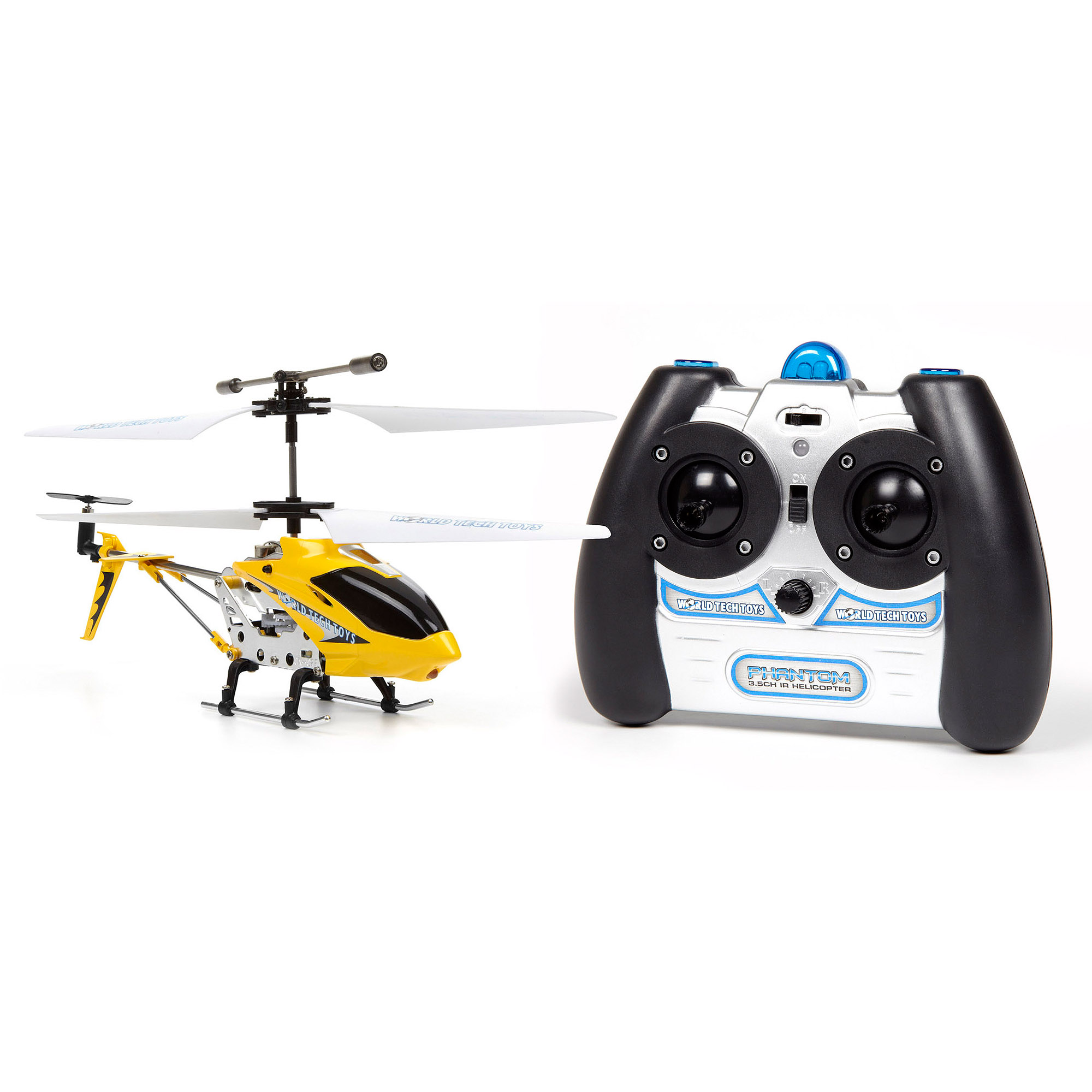 World Tech Toys 34462 3.5-Channel Phantom Gyro IR Helicopter